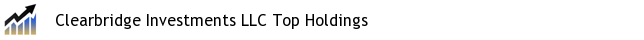 Clearbridge Investments LLC Top Holdings